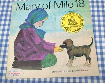 mary of mile 18, vintage 1975 children's book