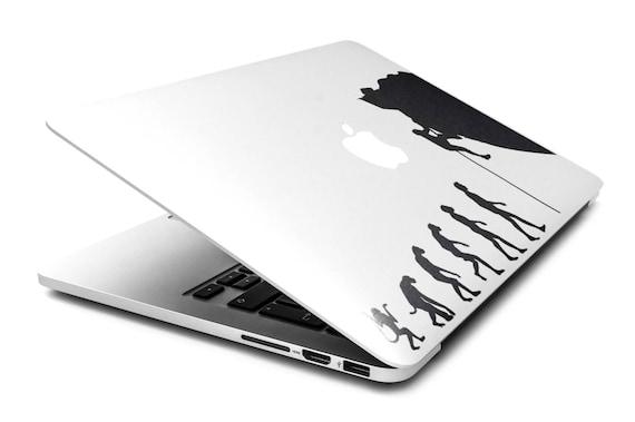 Man Evolution to Rock Climber l Decal Sticker, Cliffhanger Cliff Rock Climb, Radical Sports, mac, Macbook Decal Sticker