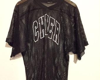 90s Vintage Cheer Mesh Jersey medium wt41635