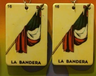 La Loteria La Bandera Earrings