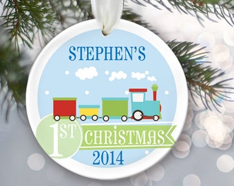 Baby Boy Keepsake Personalized Baby's 1st Christmas Ornament Create your own Custom Baby Shower Gift Newborn Ornament Christmas Gift OR173