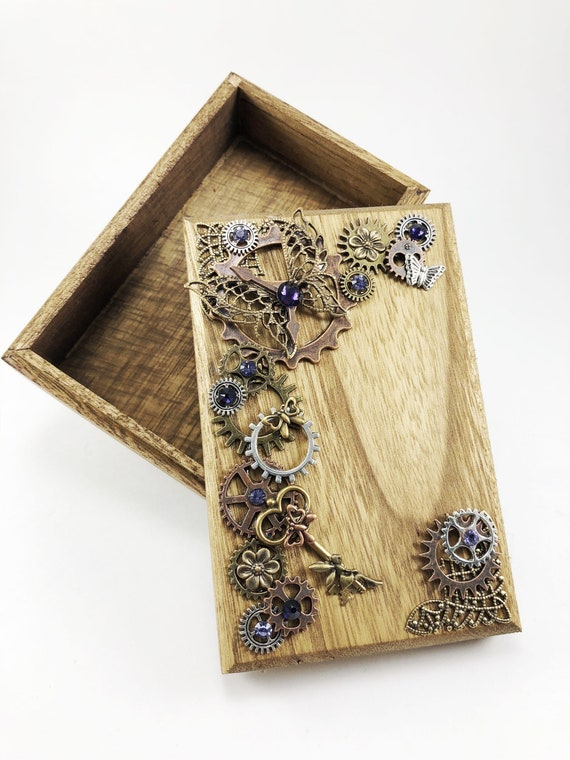 Steampunk Jewelry Box Elven Ears Elf Ears Jewelry Box