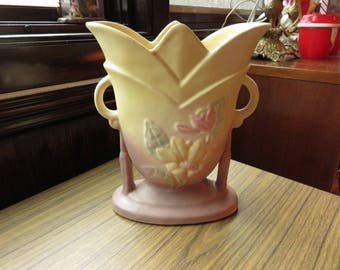 Vintage Hull Magnolia Art Pottery Vase