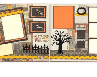 12x12 2pg. Layout - Autumn is in the Air