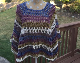 Turkish Delight Simple Poncho