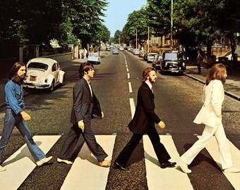 The Beatles Abbey Road Music Poster 35""