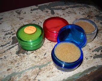 Homemade Lip Balm! 100% All Natural Ingredients!!!