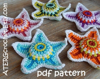 Crochet pattern STARFISH by ATERGcrochet