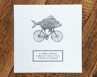 Funny Birthday Card; Card For Friend; Friendship Card; Feminist Quote; Card For Her; Birthday Card; GC161