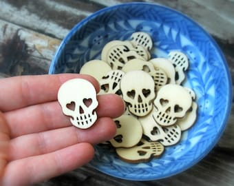 20 . Mini Sugar Skulls . Day of the Dead Dia De Los Muertos . Halloween Favor . Halloween Party Favors . Sugar Skull Wedding Favors