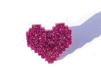 Digital Heart Ring