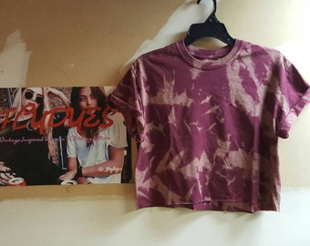 FlyDyes Acid Wash Crop Tops