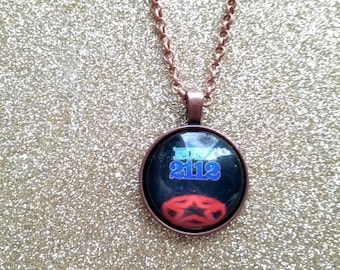 Rush 2112 Album Cover handmade one of a kind necklace