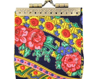 Handmade Viana's Scarf  Coin Purse Made In Portugal