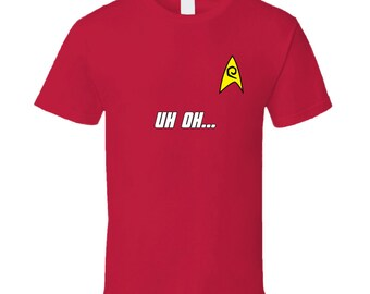 Star Trek Red Shirt Security - Uh Oh