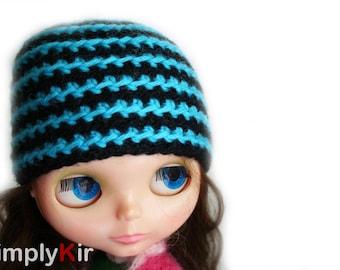 SimplyKir stripes blythe hat (PreMade)