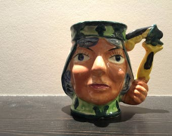 Funny Face Beer Stein