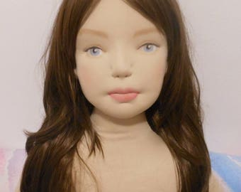 Life size doll, custom realistic doll, large waldorf doll