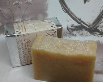 Orange Sparkle Soap