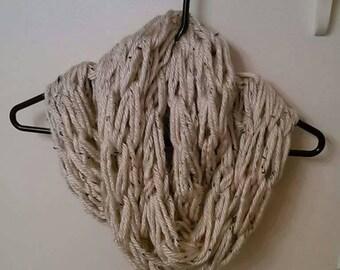 Handmade Arm Knit Infinity Scarf