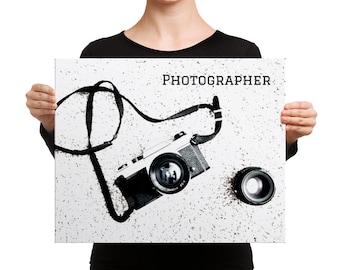 Photographer | 16x20 Canvas Print