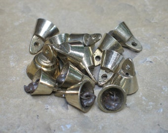 Tiny  brass bells -- only 15mm tall