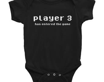Player 3 Infant Bodysuit