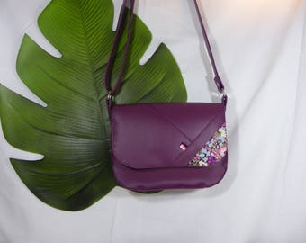 Mini purple shoulder bag and Liberty Pink/Purple