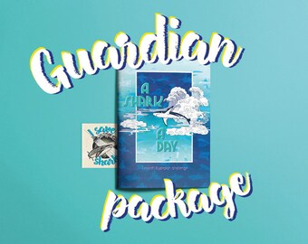 A Shark A Day - illustrated shark book. Donating 50% to save our oceans! GUARDIAN