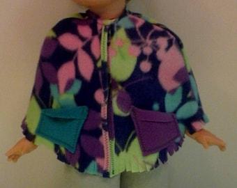 multi-colored poncho