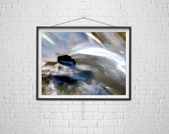 Inspirational art poster, I will survive art, nature photography, macro photography, waterfall photography, surreal art for office, soothing