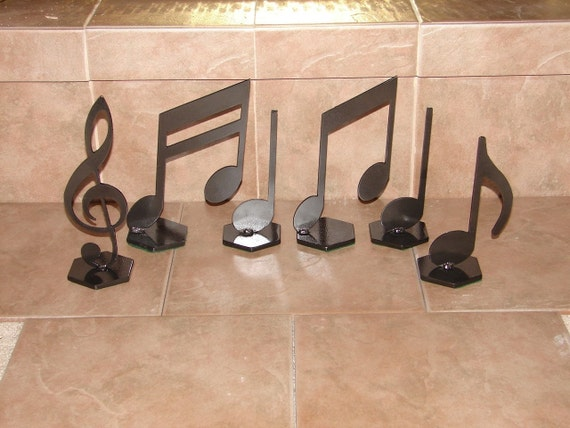 Musical Notes Home Decor Metal Art Music Note Setrhetsy: Music Note Home Decor At Home Improvement Advice