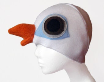 Dove Hat. Magician, Pigeon. Four Sizes. Original design.