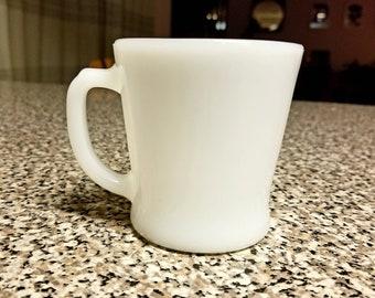 Fire King Flat Bottom Mug