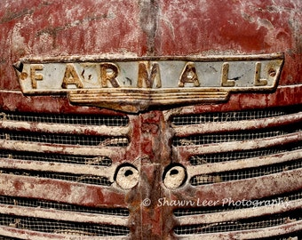 Dusty Farmall Tractor