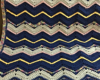 Rated Classic, Afghan, Handmade Afghan, Handmade, Crochet Afghan, Crochet Blanket, Handmade Blanket, Warm Blanket, SoniaCollectibles