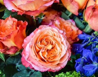 Floral Matte Print