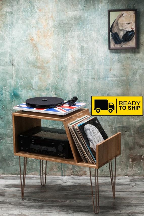 Vinyl Schallplatte Lagerung Plattenspieler Schrank Konsole