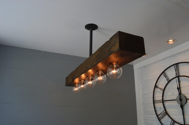 Reclaimed wood chandelier light fixture farm light zoom arubaitofo Gallery