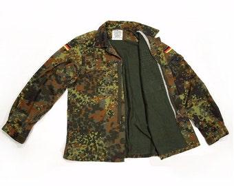 Military-Jacke, Camo Jacke, Vintage Kleidung Post-apokalyptischen Mad Max Ödland Fallout Armee ausgestellt Button-Down Hemd Jacke Military Mantel