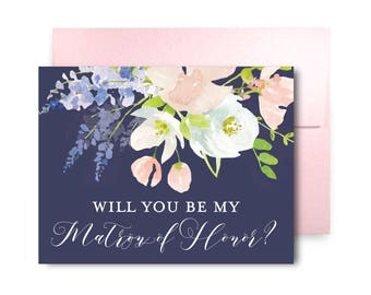 Bridesmaid Proposal Card Will You Be My Bridesmaid Card Bridesmaid Maid of Honor Gift Matron of Honor Brides Man Flower Girl #CL195