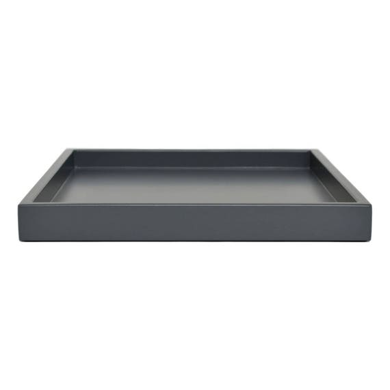 Large Ottoman Coffee Table Tray: Dark Gray Coffee Table Tray Large Ottoman Tray Wood