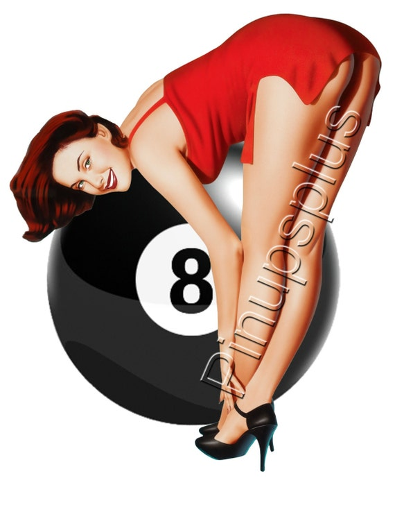 pin up 8 ball
