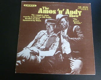 The Amos 'n' Andy Show Vinyl Record LP MR-1074 Radiola Records 1977