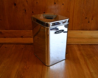 Container/Bin Sugar Vintage Classic 1950's Canette All Chrome