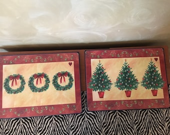 Pimpernel Christmas placemats never used