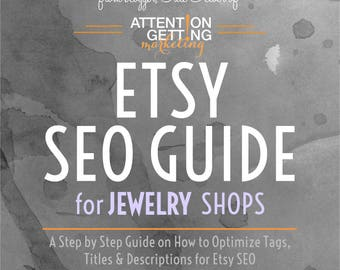 SEO Help -- Etsy SEO Help / SEO Guide for Jewelry Shops
