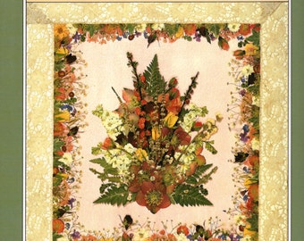 The Book of Pressed Flowers by Penny Black, Simon and Schuster, 1988