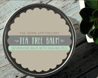 Tea Tree Eczema and Infection Balm - 8oz tin /// <<<