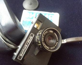 "Vintage Photo Camera""Vilia"" - Soviet Barchart Small Format Camera."